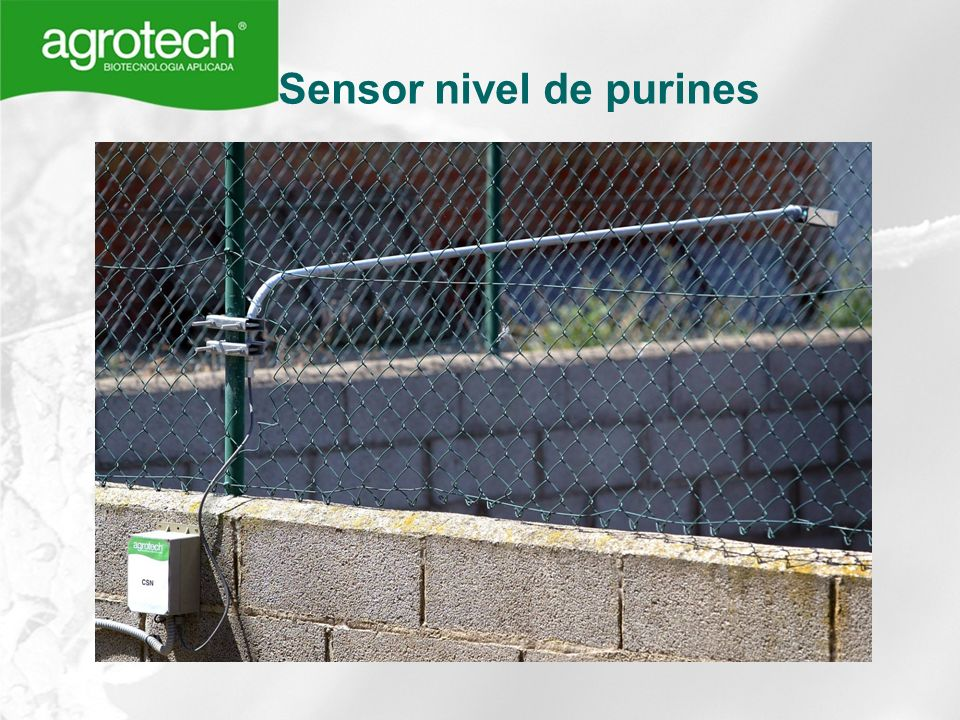 Sensor nivel de purines