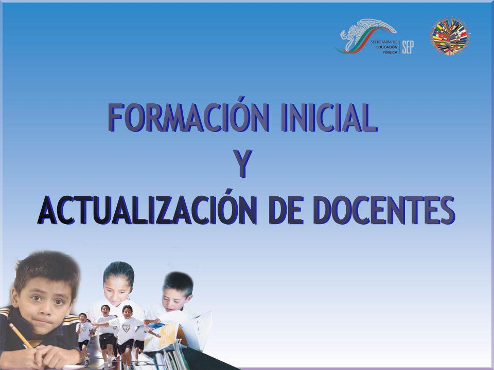ACTUALIZACIÓN DE DOCENTES