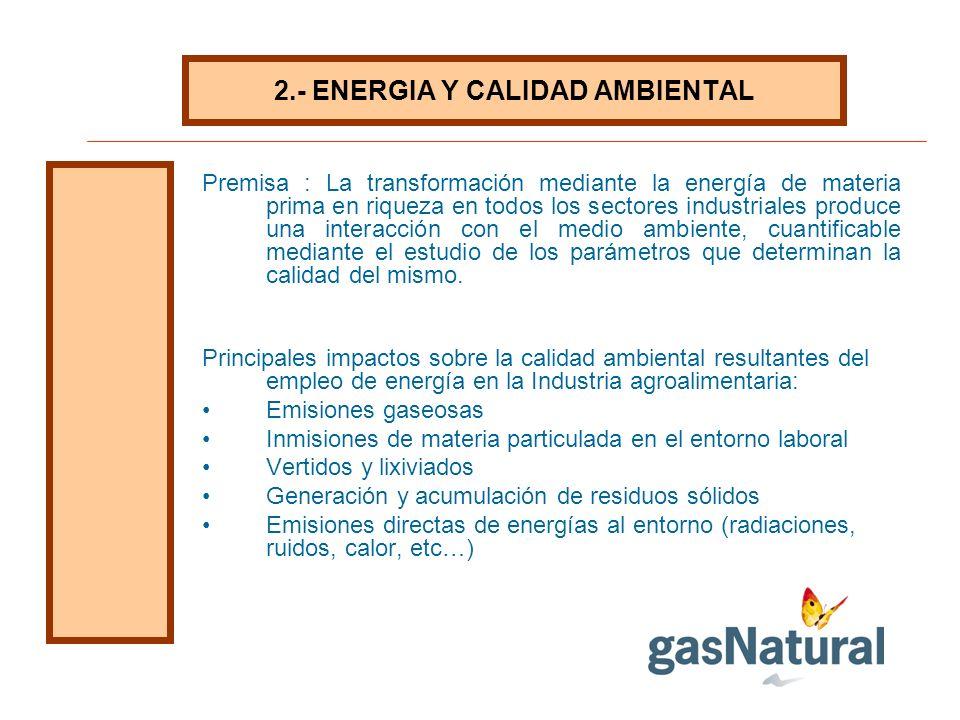 2.- ENERGIA Y CALIDAD AMBIENTAL