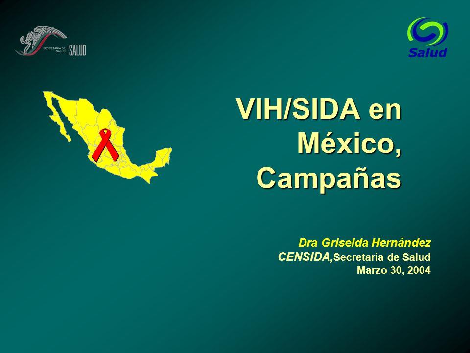VIH/SIDA en México, Campañas