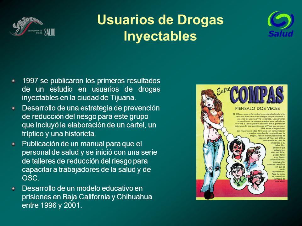 Usuarios de Drogas Inyectables