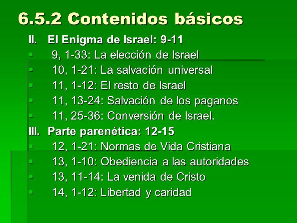 6.5.2 Contenidos básicos II. El Enigma de Israel: 9-11