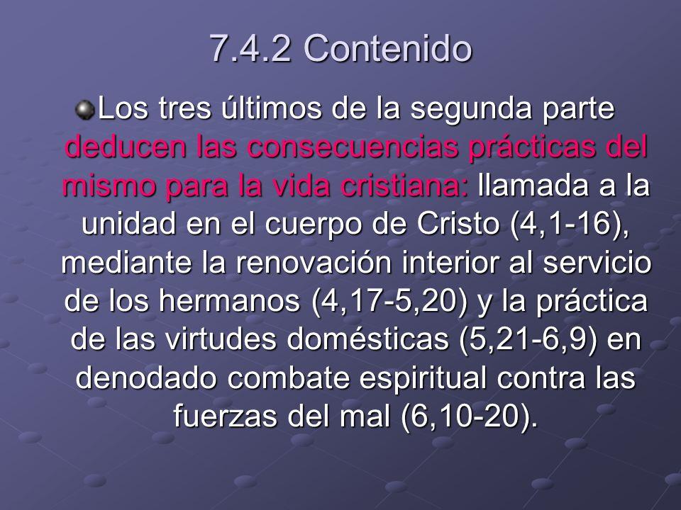 7.4.2 Contenido