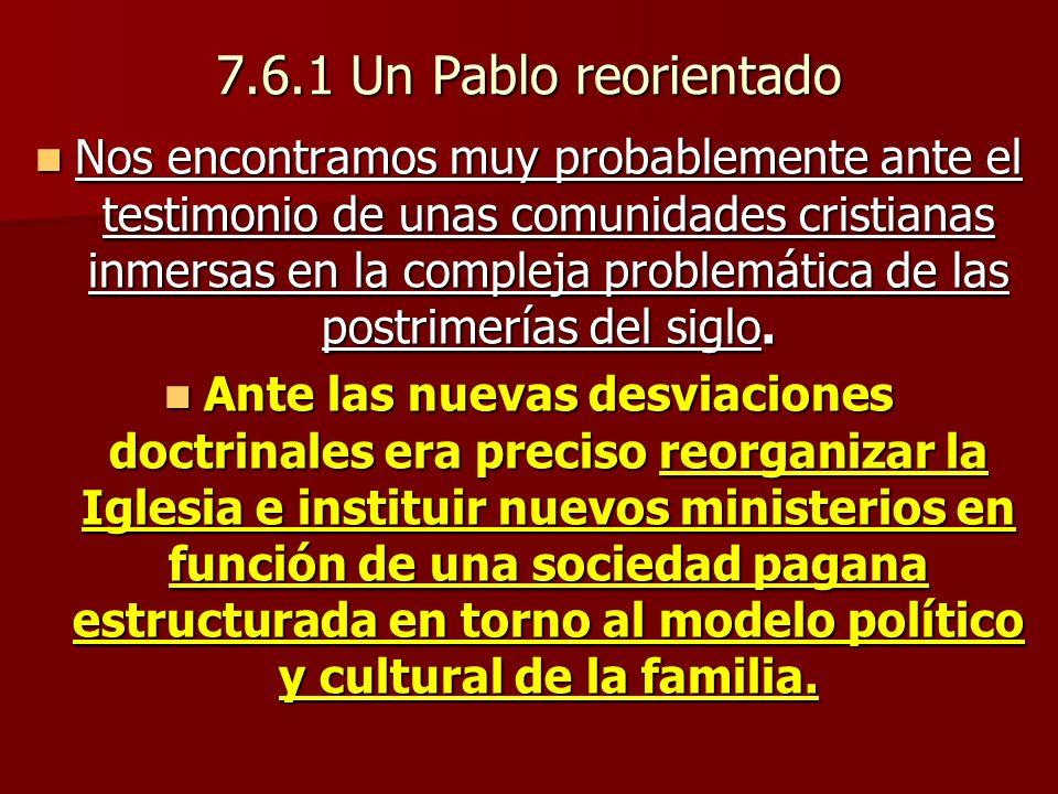 7.6.1 Un Pablo reorientado
