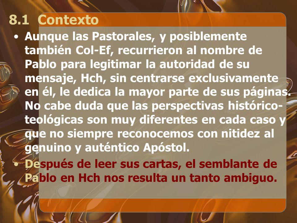 8.1 Contexto