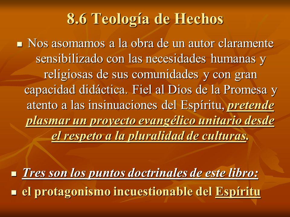 8.6 Teología de Hechos