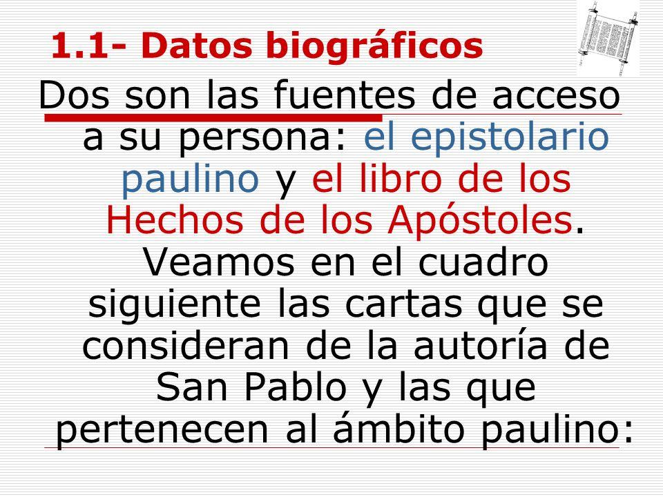 1.1- Datos biográficos