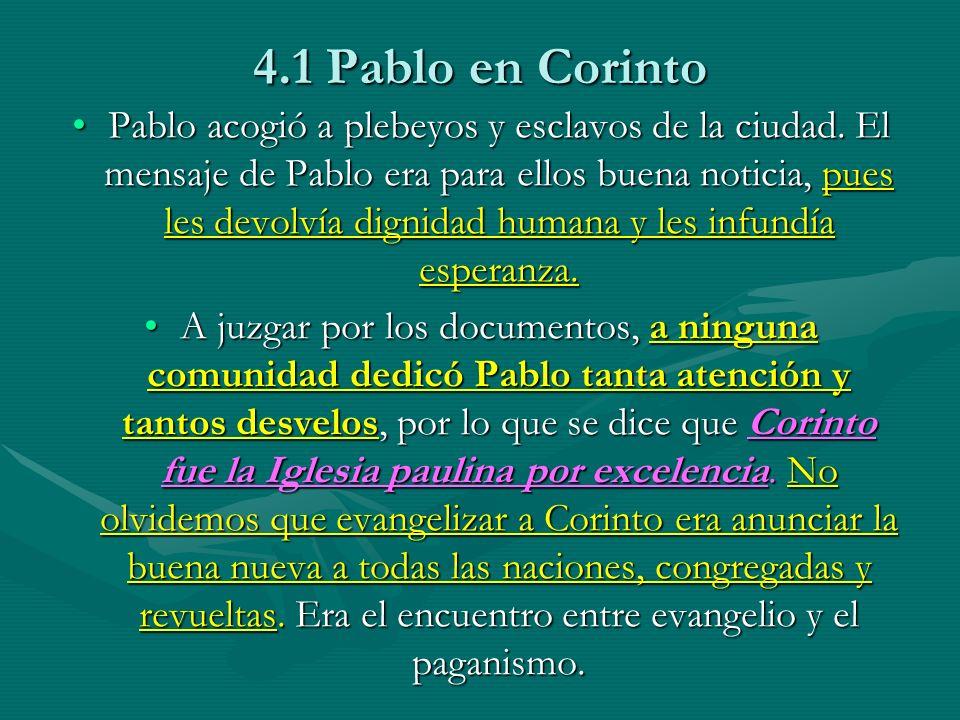 4.1 Pablo en Corinto