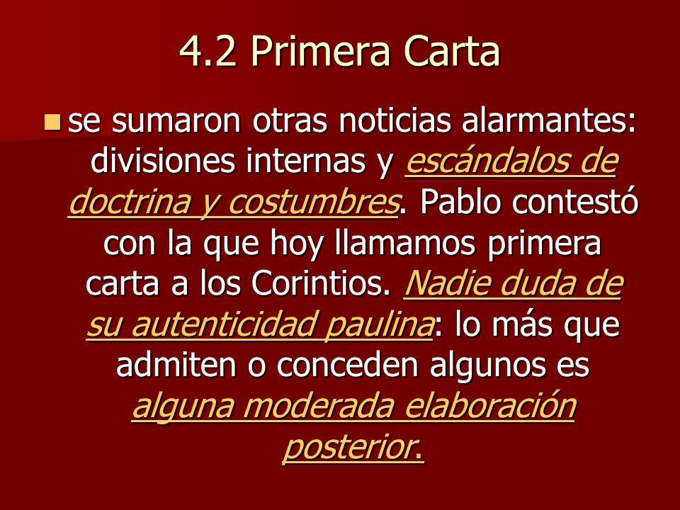 4.2 Primera Carta