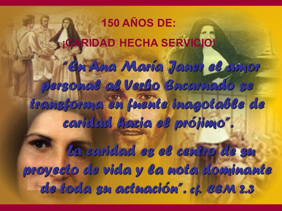 ¡CARIDAD HECHA SERVICIO!