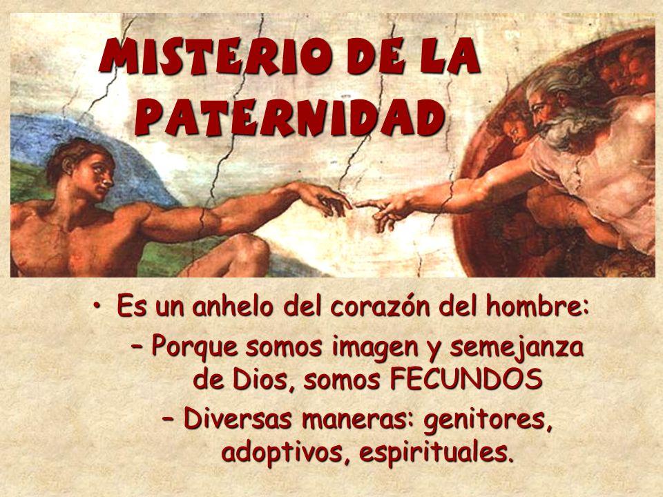 MISTERIO DE LA PATERNIDAD