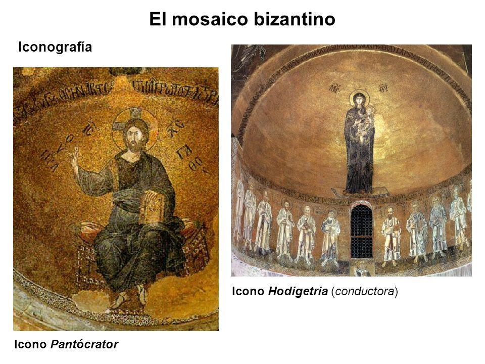 El mosaico bizantino Iconografía Icono Hodigetria (conductora)