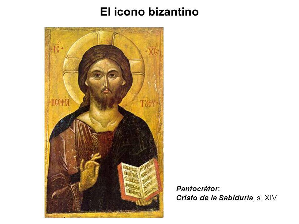 El icono bizantino Pantocrátor: Cristo de la Sabiduría, s. XIV