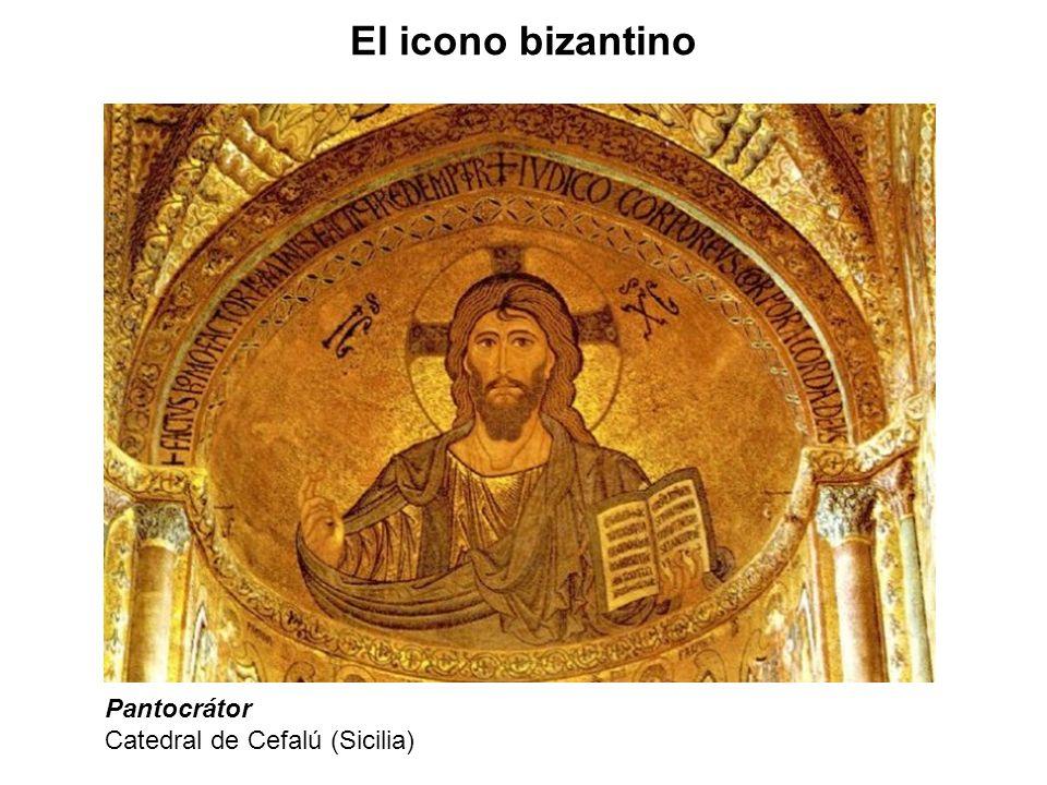 El icono bizantino Pantocrátor Catedral de Cefalú (Sicilia)