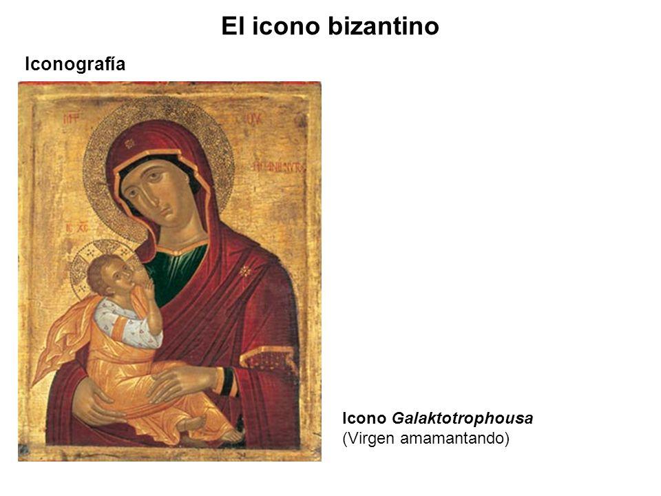 El icono bizantino Iconografía Icono Galaktotrophousa