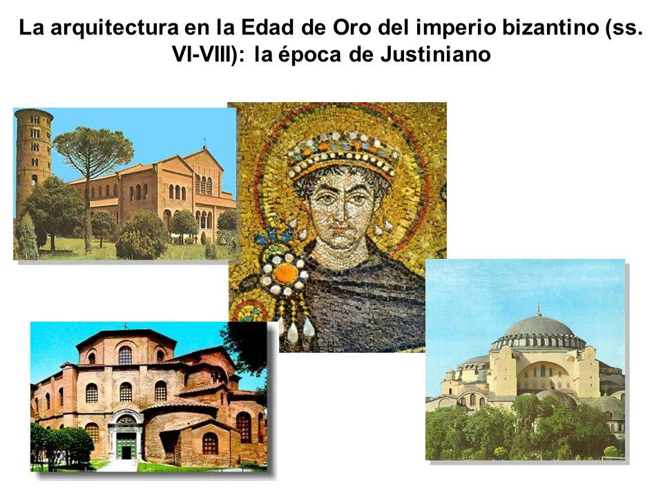 La arquitectura en la Edad de Oro del imperio bizantino (ss