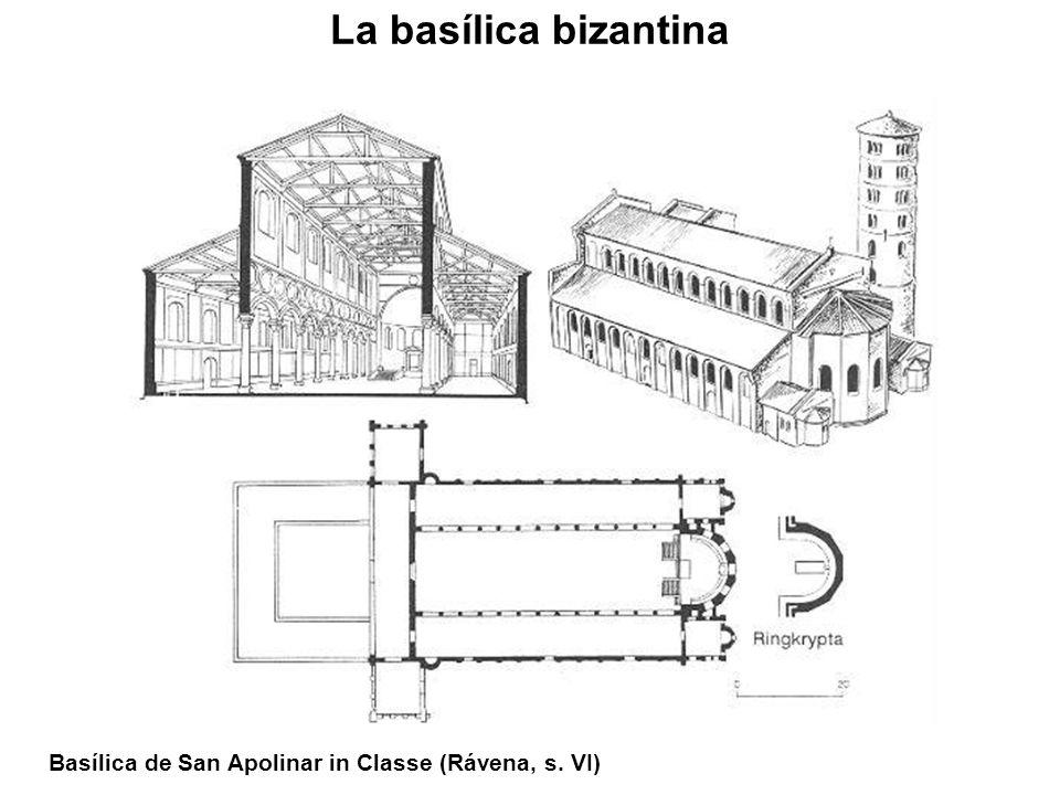 Basílica de San Apolinar in Classe (Rávena, s. VI)