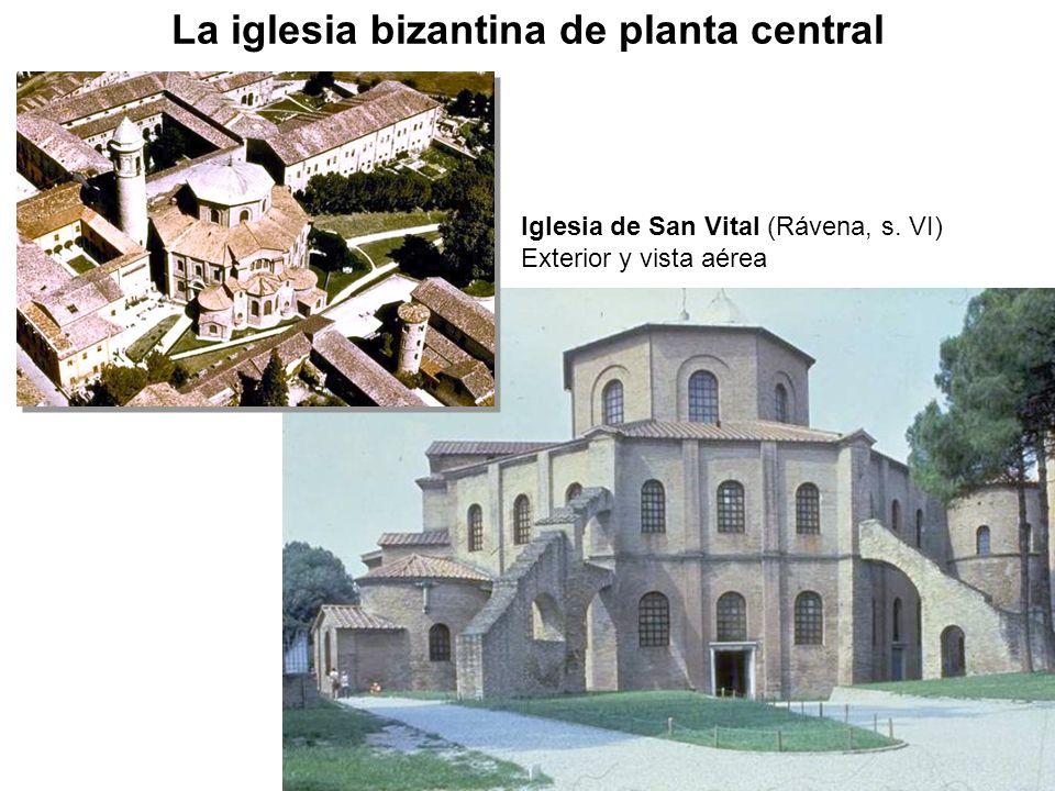 La iglesia bizantina de planta central