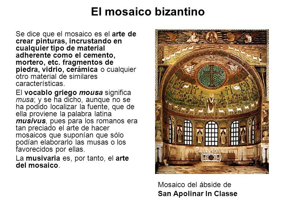 El mosaico bizantino
