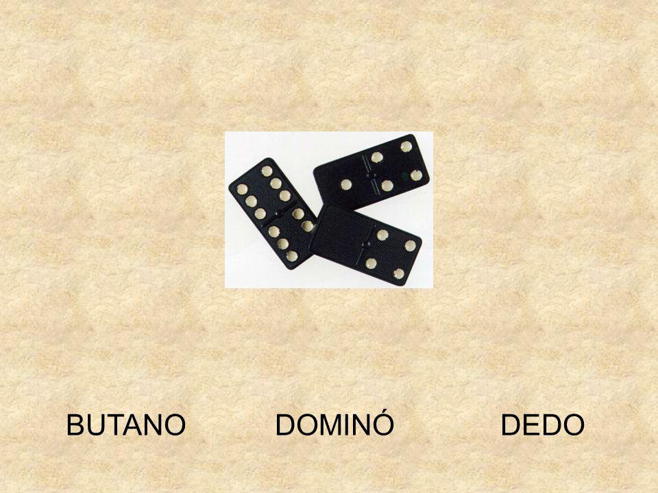 BUTANO DOMINÓ DEDO
