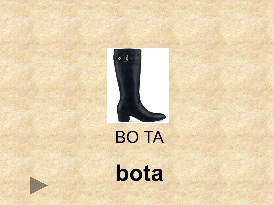 BO TA bota