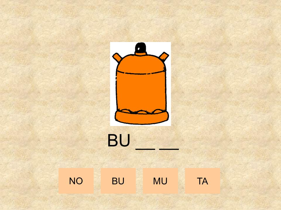 BU __ __ NO BU MU TA