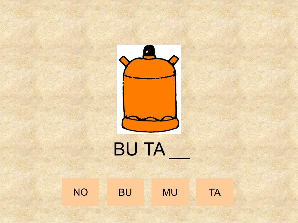 BU TA __ NO BU MU TA