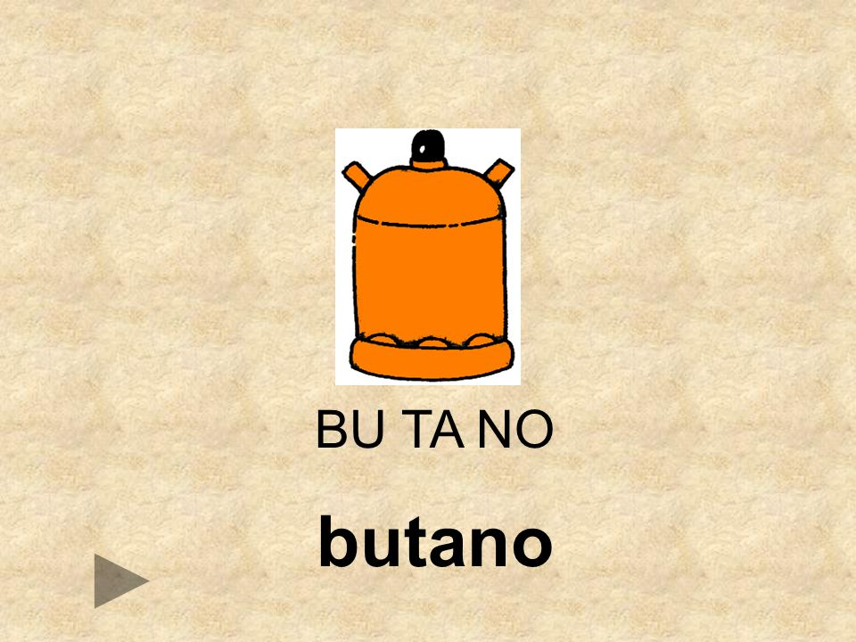 BU TA NO butano