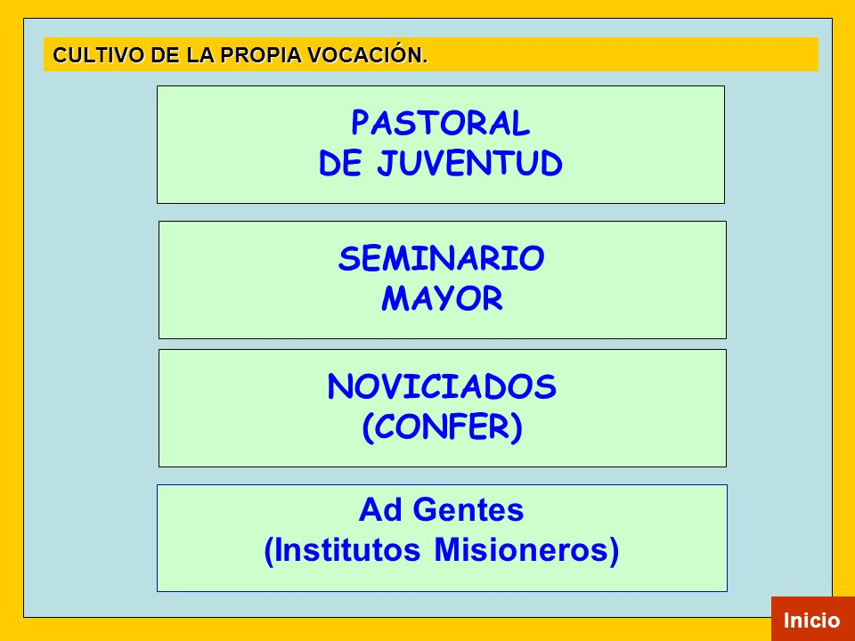 (Institutos Misioneros)
