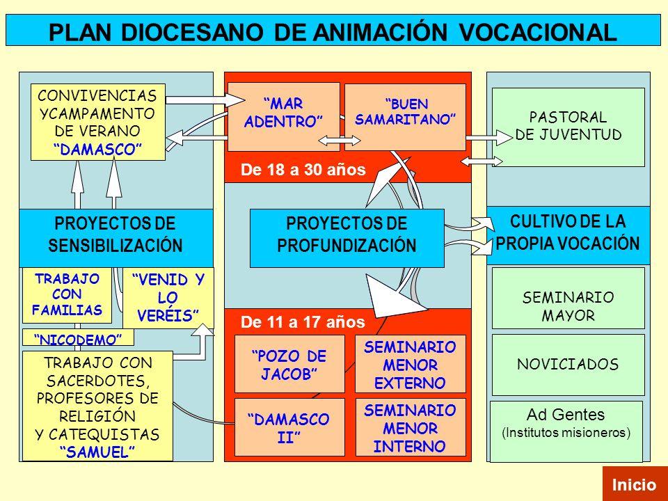 PLAN DIOCESANO DE ANIMACIÓN VOCACIONAL
