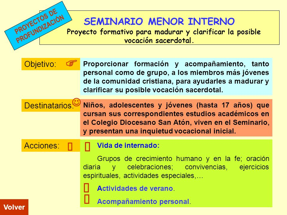 SEMINARIO MENOR INTERNO