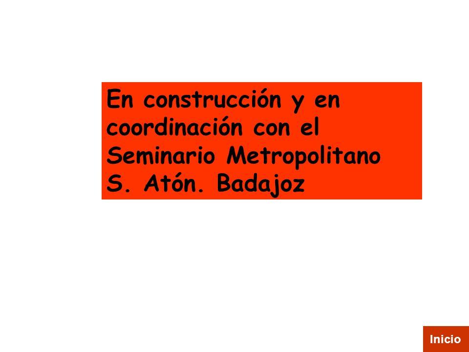 En construcción y en coordinación con el Seminario Metropolitano S