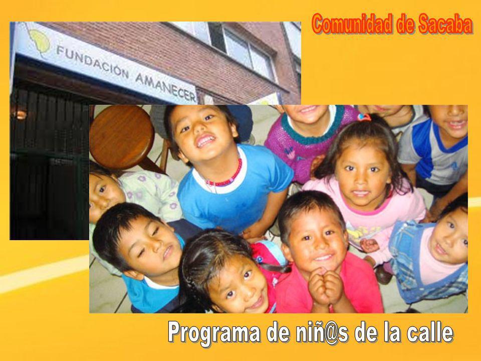 Programa de niñ@s de la calle