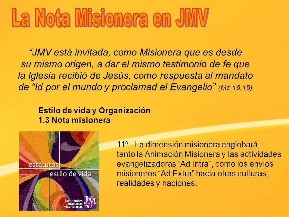 La Nota Misionera en JMV