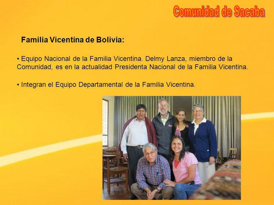 Comunidad de Sacaba Familia Vicentina de Bolivia:
