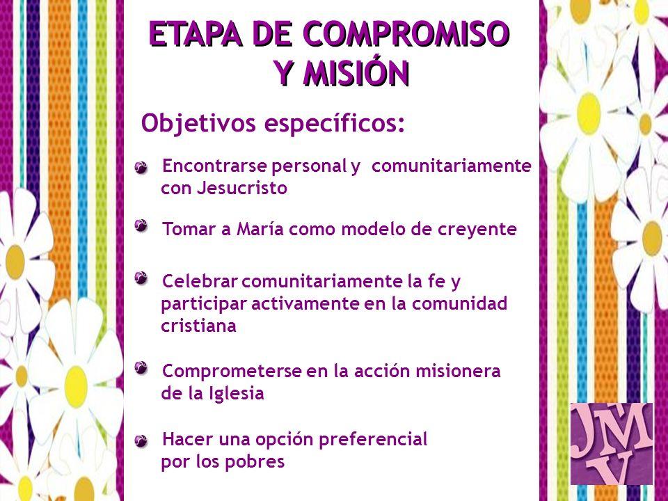 ETAPA DE COMPROMISO Y MISIÓN