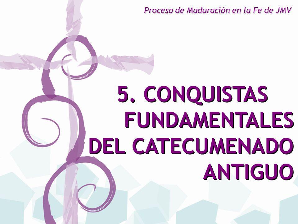 FUNDAMENTALES DEL CATECUMENADO ANTIGUO