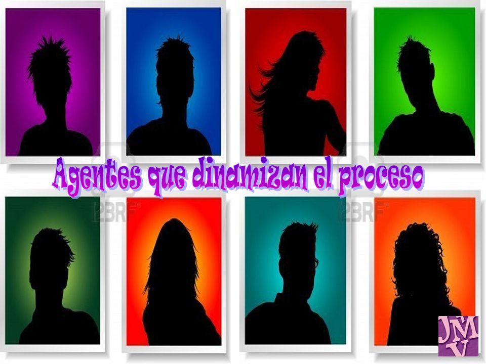 Agentes que dinamizan el proceso