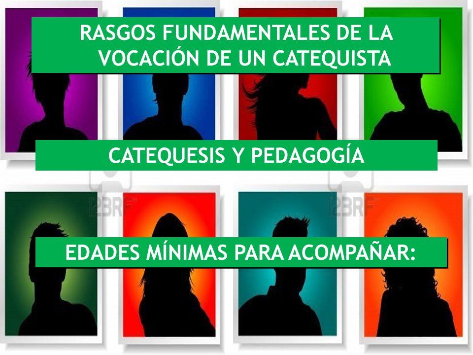 RASGOS FUNDAMENTALES DE LA VOCACIÓN DE UN CATEQUISTA