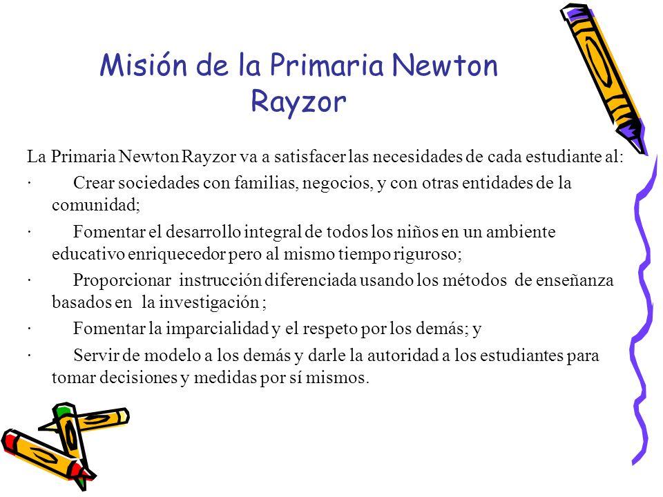 Misión de la Primaria Newton Rayzor