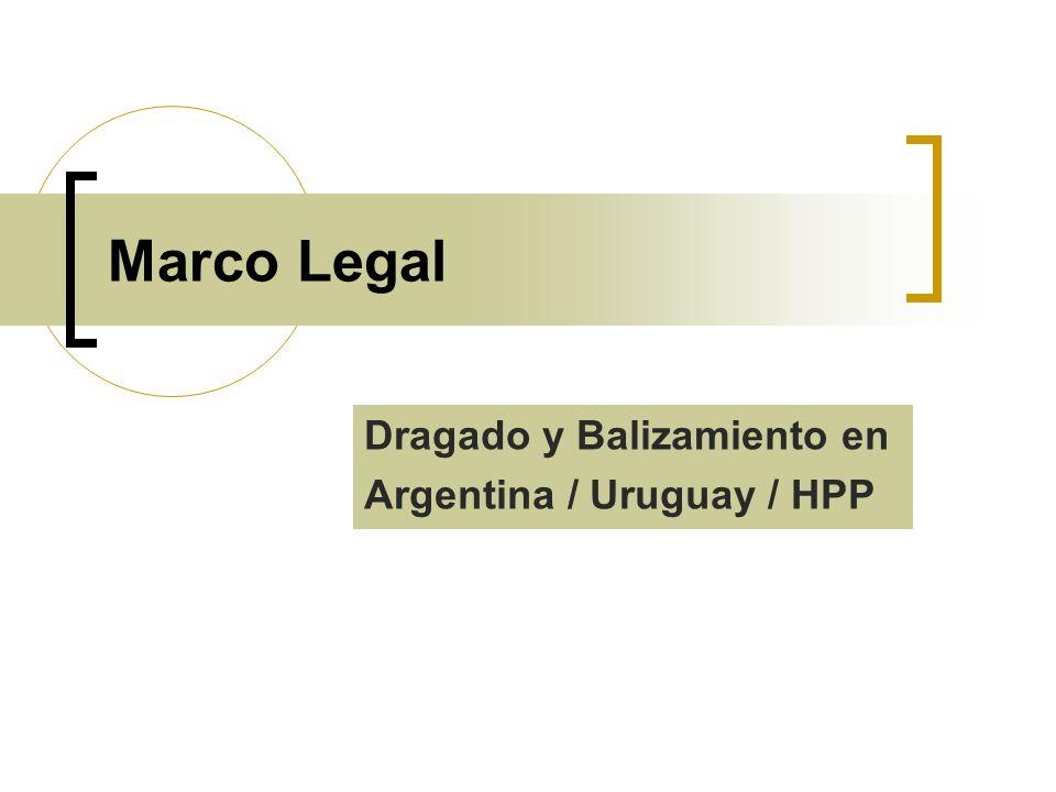 Dragado y Balizamiento en Argentina / Uruguay / HPP