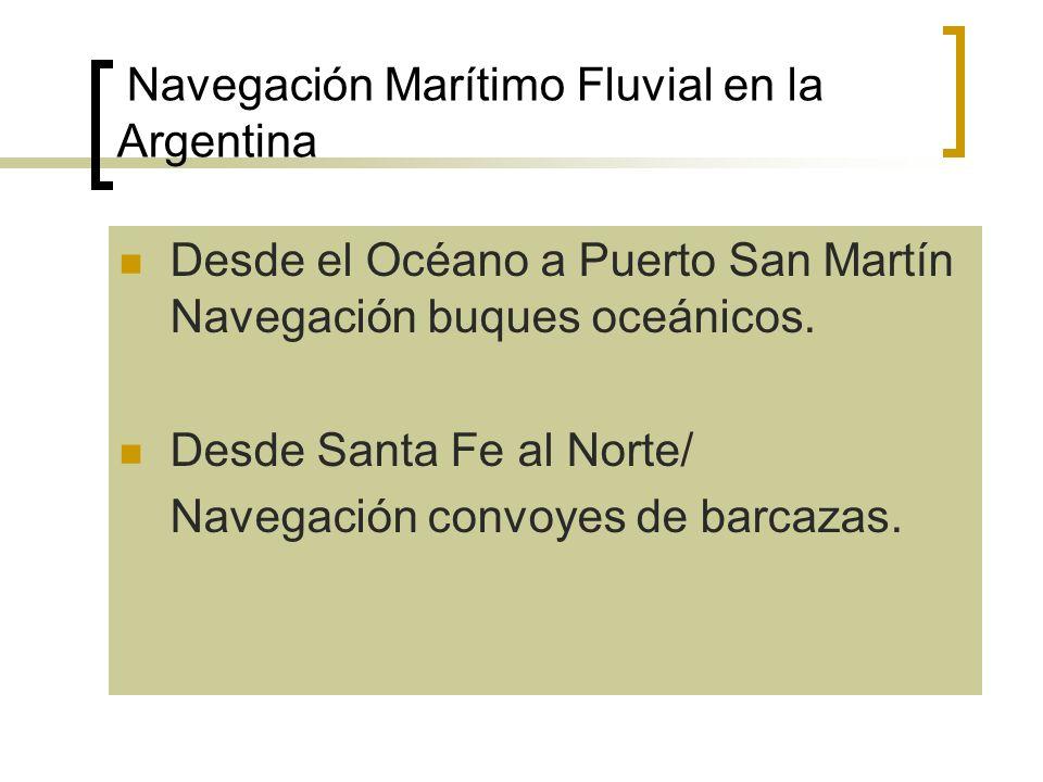 Navegación Marítimo Fluvial en la Argentina