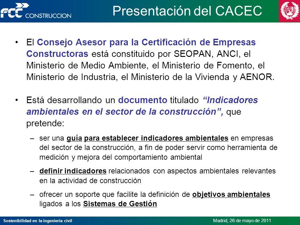 Presentación del CACEC