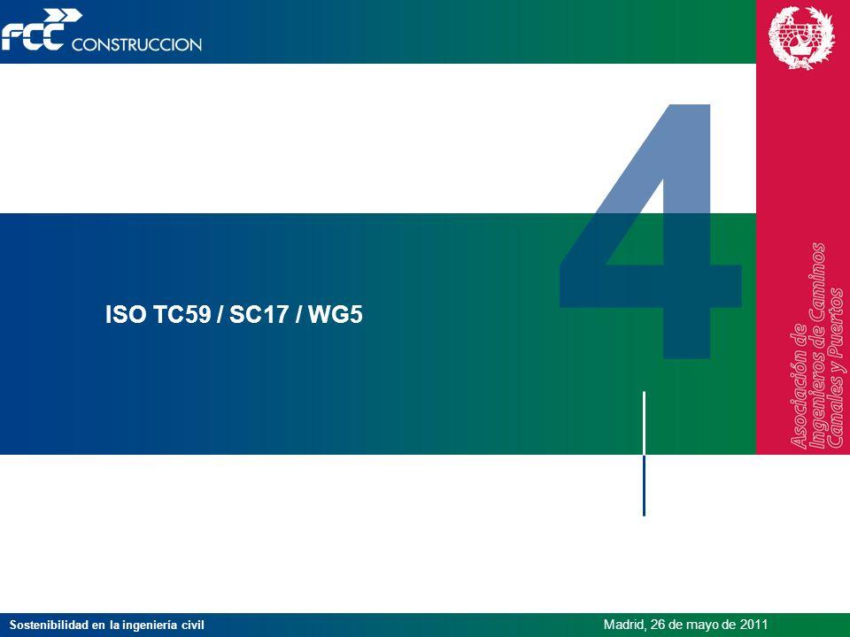 4 ISO TC59 / SC17 / WG5