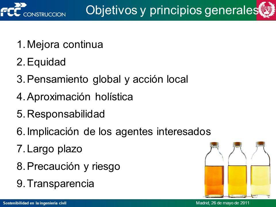 Objetivos y principios generales