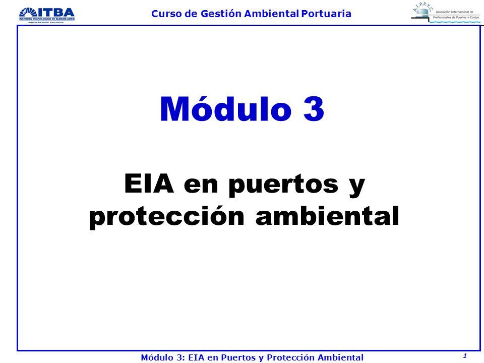 EIA en puertos y protección ambiental