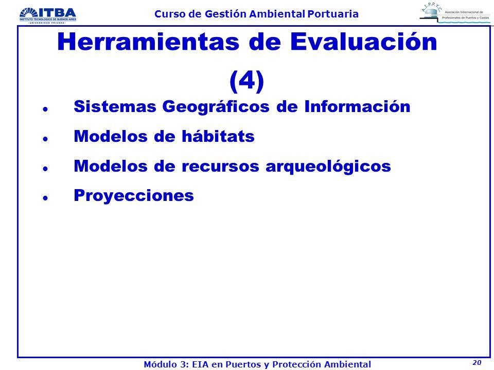Herramientas de Evaluación (4)