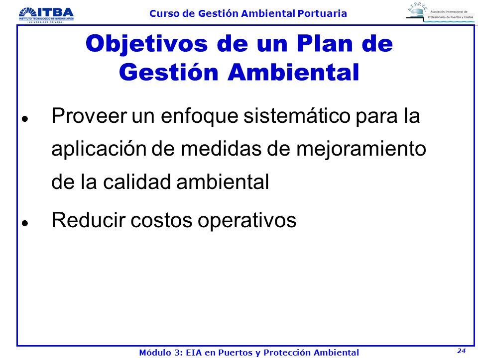Objetivos de un Plan de Gestión Ambiental