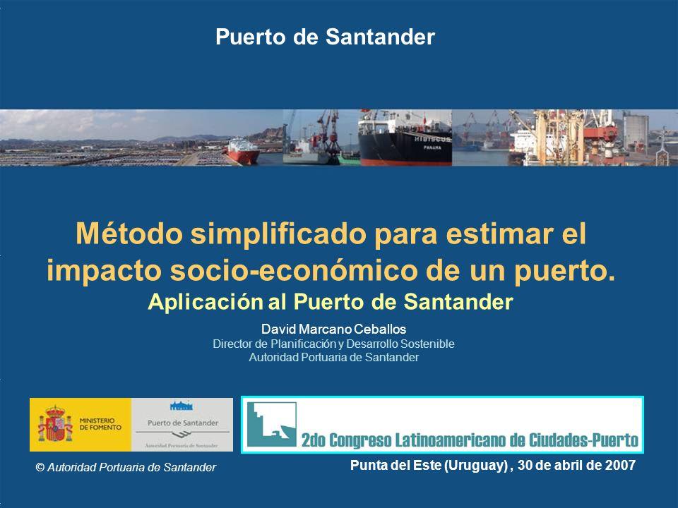 Aplicación al Puerto de Santander