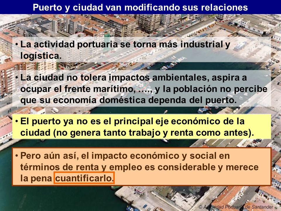 Puerto y ciudad van modificando sus relaciones